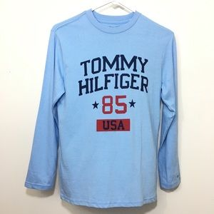 Tommy Hilfiger Boys Long Sleeve Graphic T-shirt M